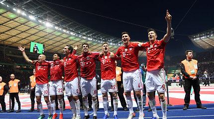 """""""Bayern"""" po trejų metų pertraukos susigrąžino Vokietijos taurę"""
