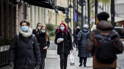 Karantiną siūloma pratęsti iki gruodžio 18 dienos, apie ribojimus parduotuvėms kol kas nekalbama