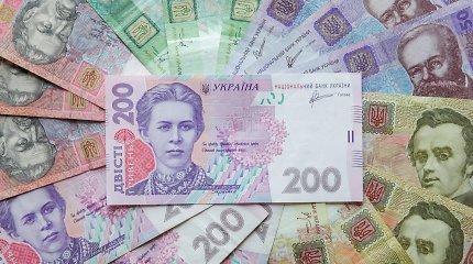 Ukraina parduoda bankrutavusių bankų 11 mlrd. grivinų vertės likvidžius aktyvus