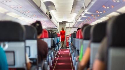 Dalyje Europos skrydžių keleiviams nereikės dėvėti kaukių