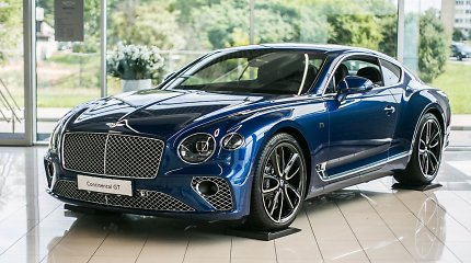 """Naujasis """"Bentley Continental GT"""" pasirodė Lietuvoje"""