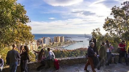 Ispanijos vasaros sostinė Malaga