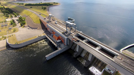 Fotopasakojimas: Kauno Algirdo Brazausko hidroelektrinė