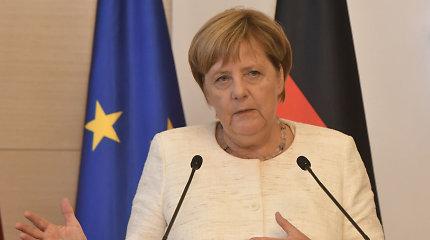 A.Merkel ragina taikiai išspręsti ginčą dėl Kalnų Karabacho