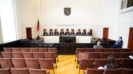 KT nevertins įstatymo, kuriuo nenustatyta teisėjo teisė į papildomą atlygį už krūvį