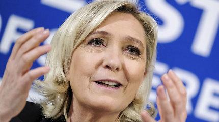 Marine Le Pen bus teisiama už IS džihadistų žiaurumų nuotraukų publikavimą