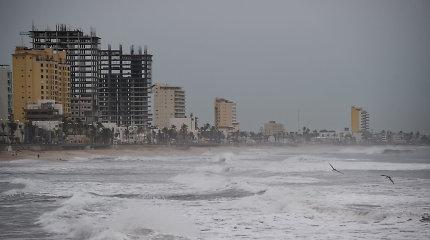 Meksika ruošiasi itin pavojingu laikomam uraganui Willai