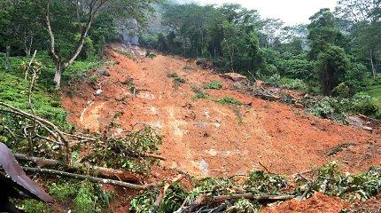 Kenijoje nuošliaužos ir potvyniai nusinešė mažiausiai 34 gyvybes