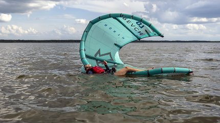 Kintuose pirmą kartą surengtas Vėjo sporto festivalis, bus siekiama rekordo