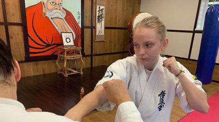 Kiokušin karatė kovotoja B.Svinkūnaitė trečią kartą tapo Europos jaunimo čempione