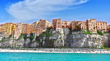 Nuostabaus grožio Italijos miestelis Tropėja