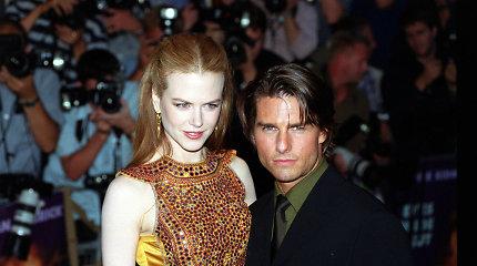 """Tomo Cruise'o įsūnis ves """"scientologijos princesę"""": Nicole Kidman šventėje nepageidaujama"""