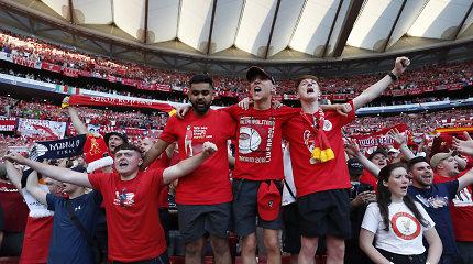 """Dingusiu laikytas """"Liverpool"""" sirgalius, pasirodo, buvo sulaikytas Madride"""