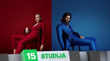 """15min studijoje – """"Red Bull SoundClash"""" dalyviai Monique ir Justinas Jarutis"""