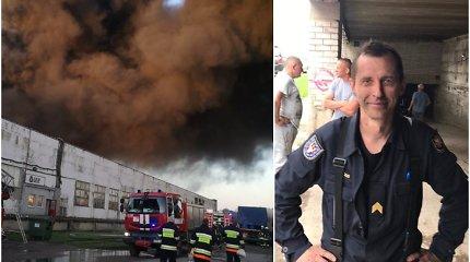 """Alytaus gaisrą malšinęs Eimantas: """"Gesinti gaisrus gyvenime – sudėtingiau, nei filmuotis """"Černobylyje"""""""