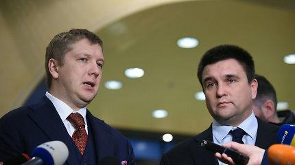 Ukrainos ir Rusijos derybos dėl dujų: kol kas be rezultatų, bet su optimizmo gaida