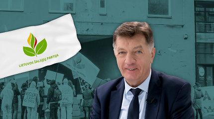 Buvęs premjeras A.Butkevičius Seimo rinkimuose dalyvaus su žaliaisiais
