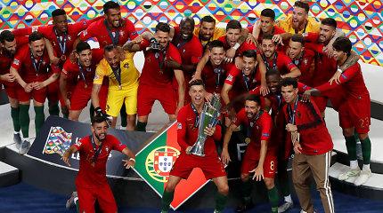 Portugalijos triumfas UEFA Tautų lygos turnyre