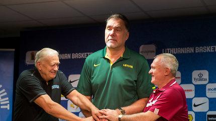 """Arvydo Sabonio šūkis """"dėl moterų!"""": planas gelbėti Lietuvos moterų krepšinį"""