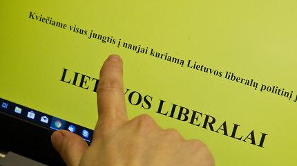 """Už mįslingos organizacijos """"Lietuvos liberalai"""" – buvusio pareigūno šešėlis"""