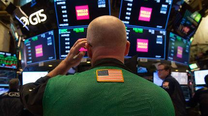 Optimizmas dėl prekybos susitarimo su Kinija kelia JAV akcijų indeksus