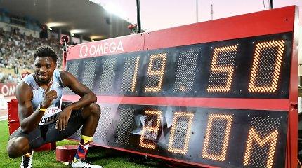 Deimantinė lyga: N.Lylesas pagerino U.Bolto rekordą