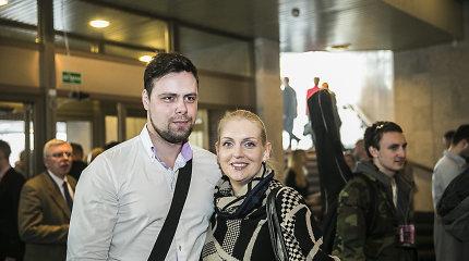 Rūta Ščiogolevaitė į teismą dėl vaikų išlaikymo padavė sutuoktinį ir jo motiną