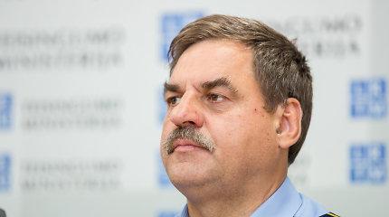 Vyriausybė atleido Kalėjimų departamento vadovą R.Krikštaponį