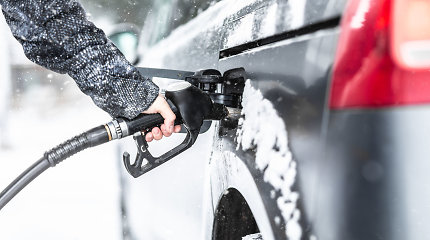 Degalų kainos vasarį augo visose trijose Baltijos šalyse