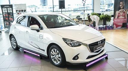 """""""Mazda"""" pardavimo apimtys Europoje auga jau dešimtą ketvirtį iš eilės"""