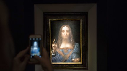 "Pati brangiausia meno mįslė: kur dingo Leonardo da Vinci ""Salvator Mundi""?"