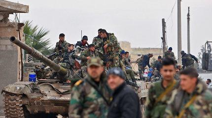 """D.Trumpas ir Turkija ragina Rusiją liautis rėmus """"žiaurumus"""" Sirijoje"""