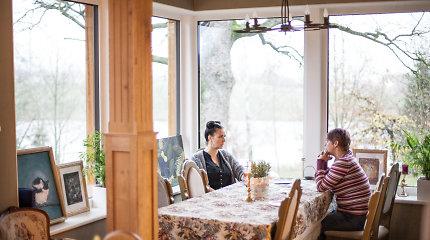 Buvusioje malkinėje mama su dukra įkūrė restoraną: pasimeldžiame, kad atvažiuotų žmonės, kuriems patinka mūsų maistas