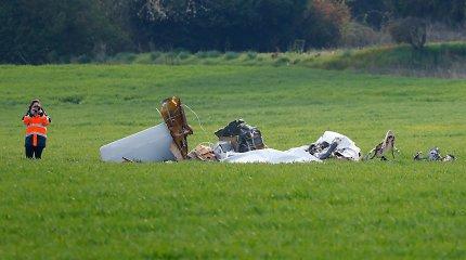 Prie Paryžiaus sudužus lengvajam lėktuvui žuvo keturi žmonės