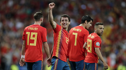 Europos čempionato atrankoje – Ispanijos ir Lenkijos įvarčių šou