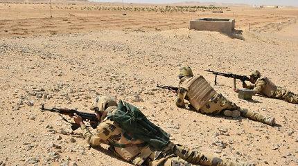 Egipto Sinajaus pusiasalyje žuvo 3 kariai ir 30 džihadistų