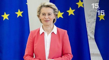 15/15: EK pirmininkės metinio pranešimo akcentai: kaip Europai sekasi kovoti su pandemija ir kitais iššūkiais?