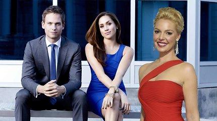 """Už princo ištekančią Meghan Markle seriale """"Suits"""" pakeis romantinių filmų žvaigždė Katherine Heigl"""