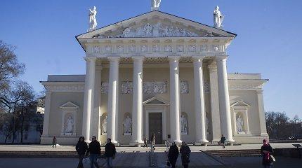 Vilniaus arkikatedra prieš 25 metus iš sovietinės Paveikslų galerijos vėl tapo svarbiausia Lietuvos bažnyčia