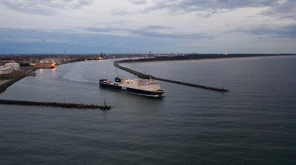 Iš Klaipėdos į Švediją plukdys naujas DFDS keltas