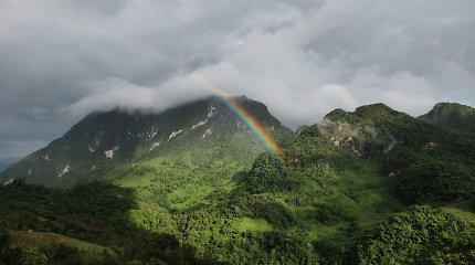 Šiaurės Tailando kryptimi: kalnai šaukia