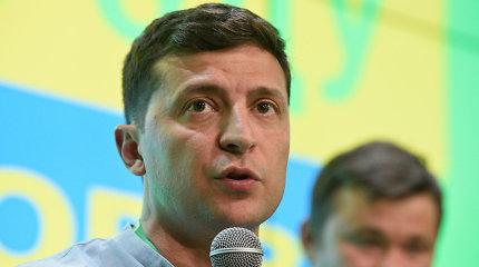 """V.Zelenskis sako turįs """"atsarginį planą"""" karui Rytų Ukrainoje užbaigti"""