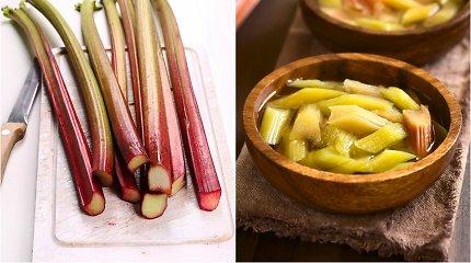 Rabarbarų sezono pikas: 2 netikėti receptai – tailandietiška sriuba ir ledai