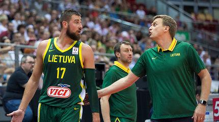"""""""Eurobasket 2021"""" atrankos burtai: Lietuva sužinojo savo varžoves"""
