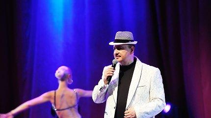 Simono Donskovo jubiliejinio koncerto akimirkos