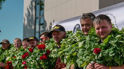 Lietuviai iš Ladogos ralio grįžo su apdovanojimu: klasėje laimėjo pirmą vietą