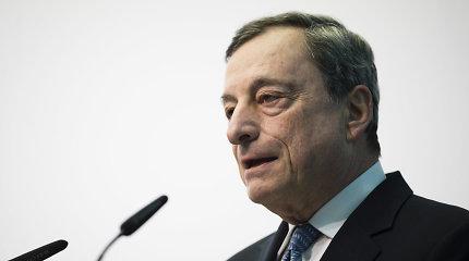 """ECB rinkai pažers dar daugiau eurų, o palūkanas tempia dar žemiau """"į minusą"""""""