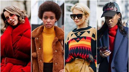 Gatvės stilius: ką vilkėti, kai lauke šalta?