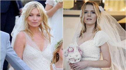 """Lietuvaitės """"pasimatavo"""" trijų pasaulyje žinomų moterų vestuvinius įvaizdžius"""