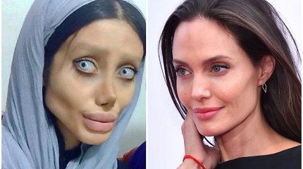 """Irane dėl šventvagystės sulaikyta į Angeliną Jolie norėjusi būti panaši """"Instagramo"""" žvaigždė"""